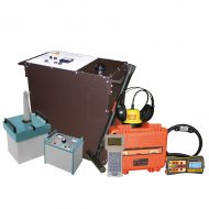 Портативная электротехническая лаборатория для испытания и поиска повреждений кабеля акустическим и индукционным методом Атлет КАИ-2.501