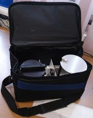 Сумка и держатель чашек Петри 90 мм для аспиратора ПУ-1Б